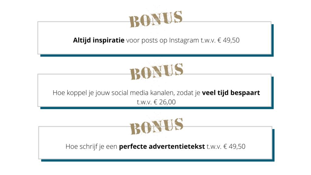 Bonus modules